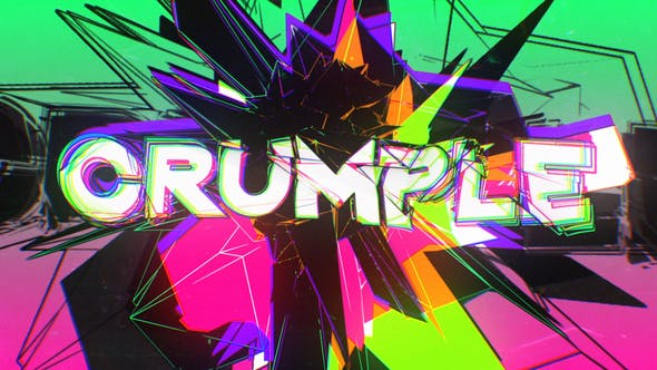 Crumple Crash Title Opener 30310967 - After Effects Project Files
