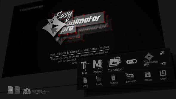 Easy Animator Pro | All In One Animation Maker For Text , Motion & Transitions 31776987 - After Effects Scripts