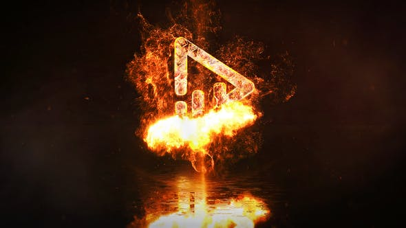 Fire Logo Reveal 31945425 - After Effects Project Files