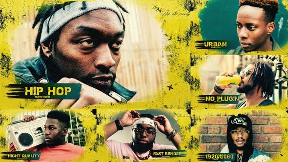 Grunge Urban Opener  / Hip-Hop / Brush  / Slideshow / Street 32085523 - After Effects Project Files