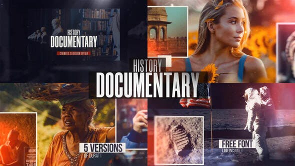 History Documentary Slideshow 32333859 - After Effects Project Files