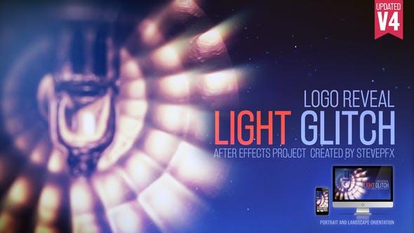 Light Glitch Logo V4 7868077 - After Effects Project Files