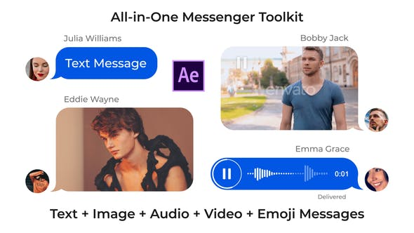 Messenger Toolkit V3.1 25647819 - After Effects Project Files
