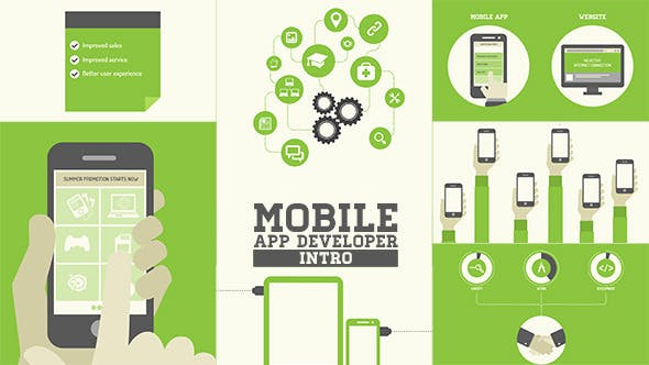 Mobile App Developer Intro 7910442 - After Effects Project Files