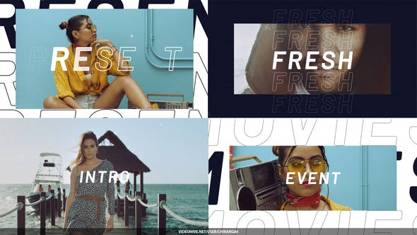 Modern Fashion Opener 32459800 - After Effects Project Files