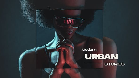 Modern Urban Stories 32489734 - After Effects Project Files