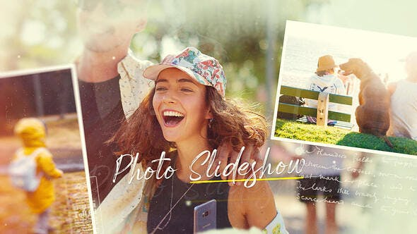 Photo Slideshow - Beautiful Moments 31832624 - After Effects Project Files