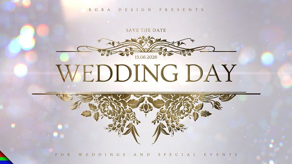 Wedding 32093861 - After Effects Project Files