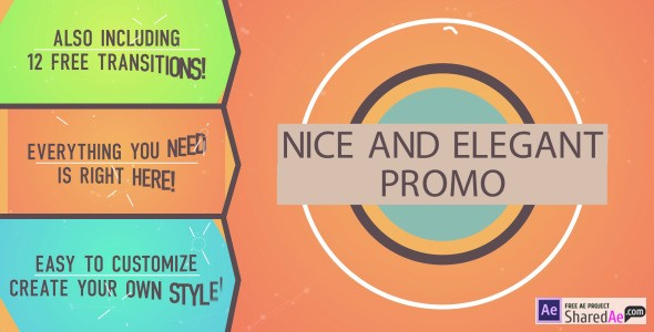 Nice and Elegant Promo 8497907 - Videohive shareDAE
