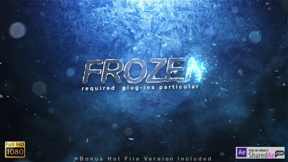 Frozen Reveal 9697348 - Videohive shareDAE