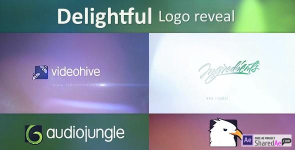 Delightful Logo Reveal 9218460 - Videohive shareDAE