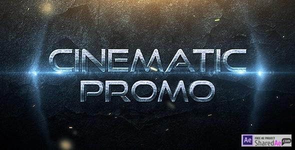 Cinematic Promo Trailer 9065555 - Videohive shareDAE