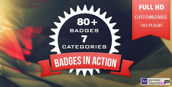 Animated Badges 80 8654881 - Free Download