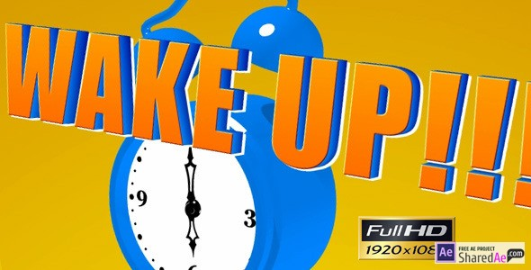 Cartoon Alarm Clock 2393406 - Videohive shareDAE
