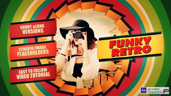 Funky Retro 12854234 - Videohive shareDAE
