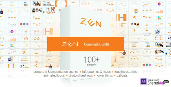 Zen Presentation Bundle 11734410 - Videohive shareDAE