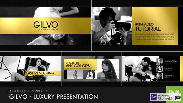 Gilvo - Luxury Presentation 10934335  - Free Download