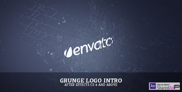 Grunge Logo Intro 7358222 - Free Download