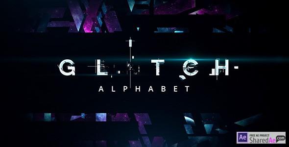 Glitch Alphabet 11929491 - Free Download