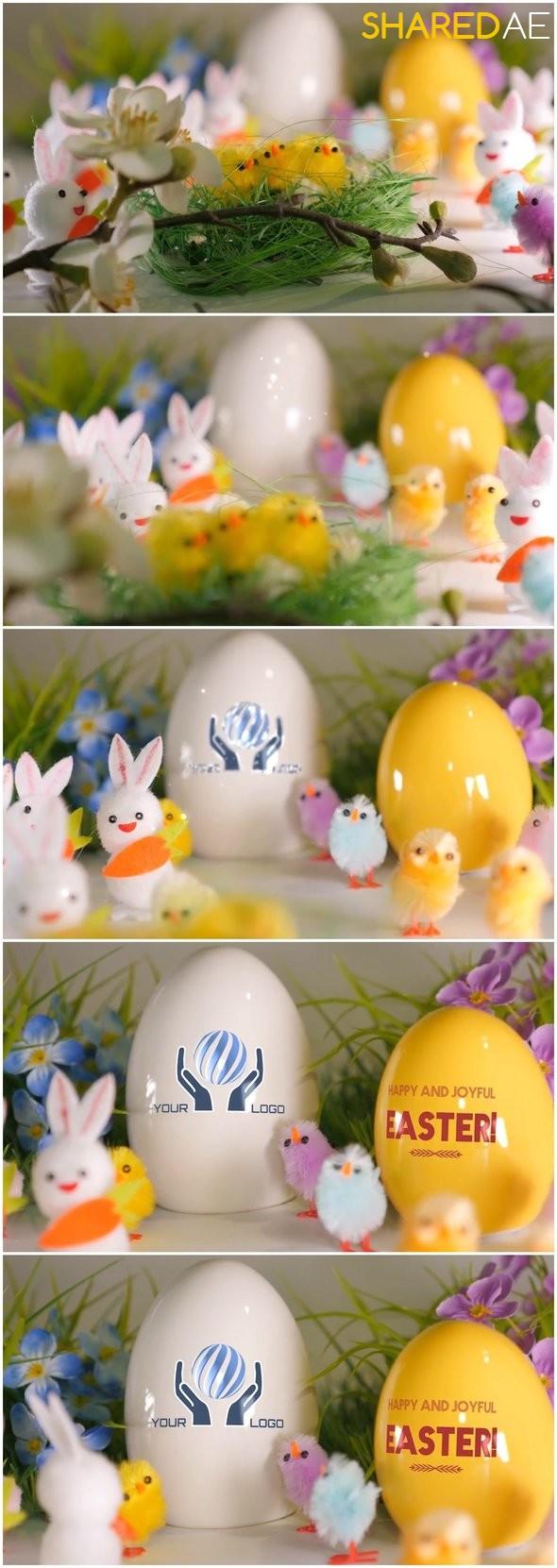 Videohive - Easter Greetings 19728126