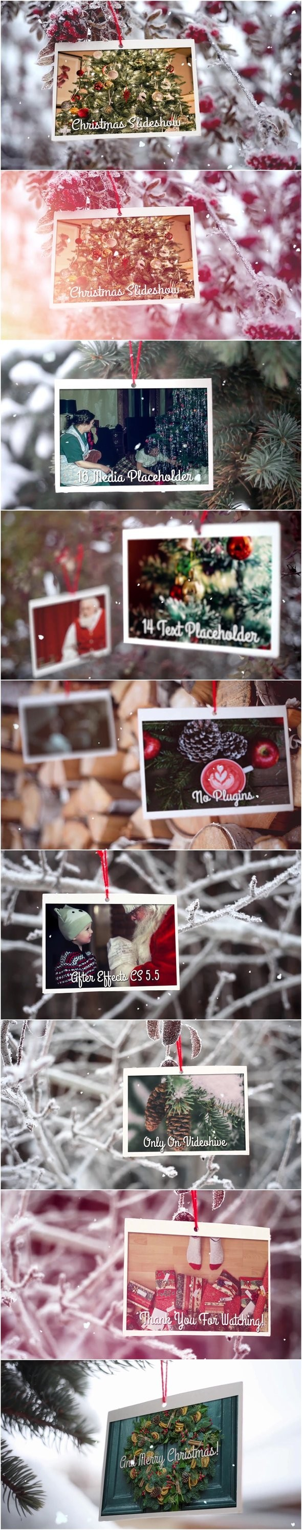 Videohive - Christmas Slideshow 20896229
