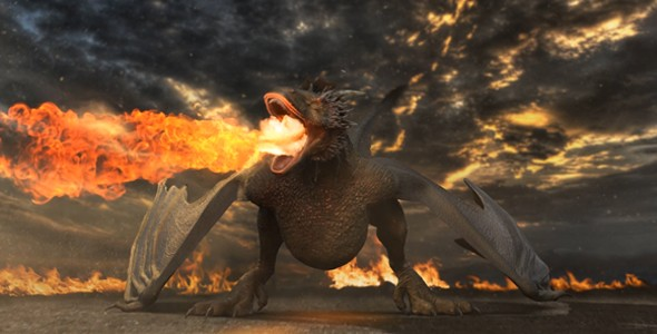 Videohive - Dragon Logo Reveal 20408968