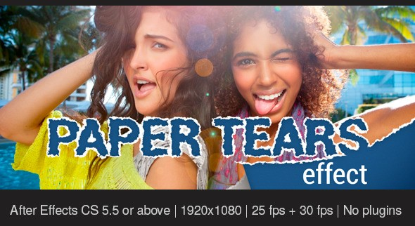 Videohive - Paper Tears 11333428