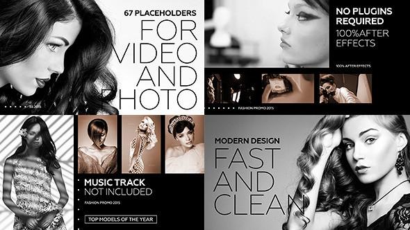 Videohive - Black Fashion Promo 12070187