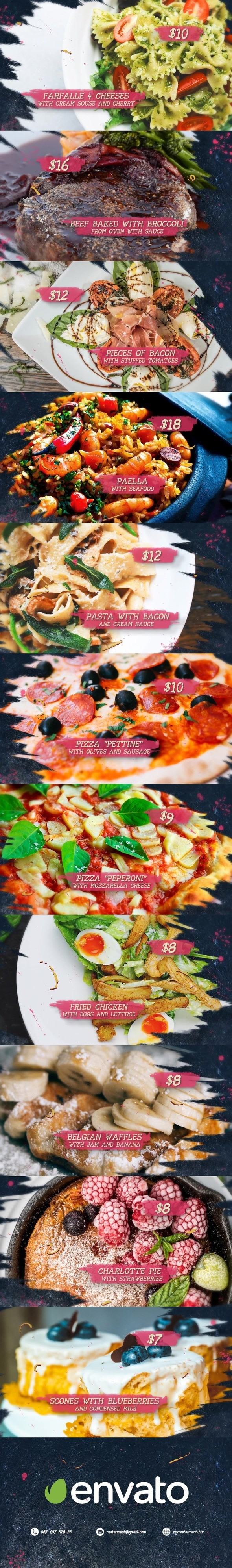 Videohive - Food Market 20952499