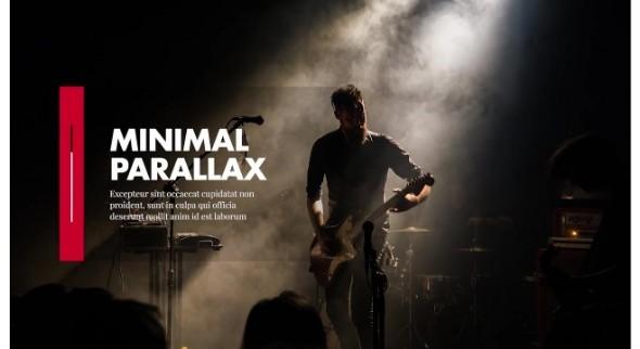 Motion Array - Minimal - Parallax Presentation 50721