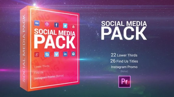 SOCIAL MEDIA PACK - PREMIERE PRO TEMPLATE