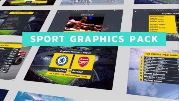 Sport Titles Graphics Pack 63815 - Premiere Pro Templates