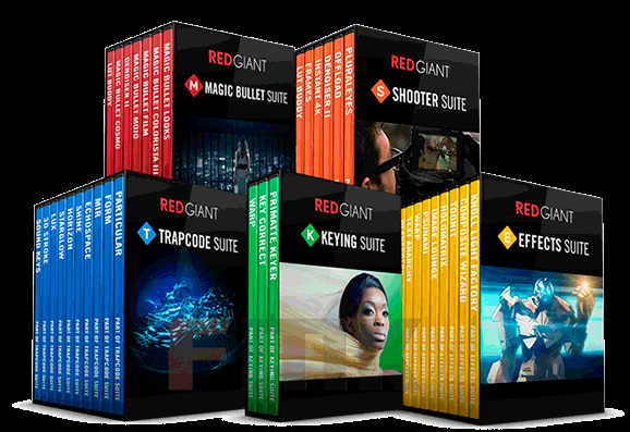 Red Giant Complete Suite 2018 for Adobe CS5 - CC 2018 (Win/MacOS)