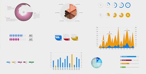 Videohive 10 Amazing Infographic Elements 6172219