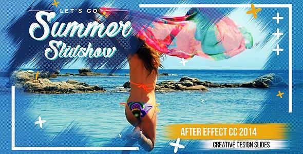 Videohive Summer Slideshow 20846293