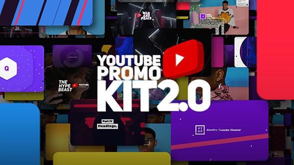 Videohive Youtube Promo Kit 2.0 21117330