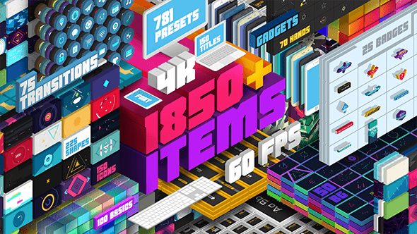 Videohive Big Pack of Elements 19888878 - Version 1.5