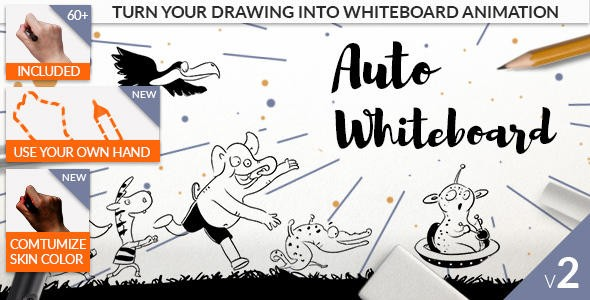 Videohive Auto Whiteboard V.2 20608476 WIN MAC OSX