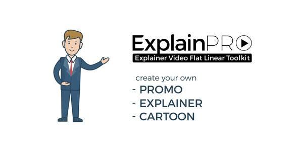 Videohive ExplainPRO. Explainer Video Flat Linear Toolkit 21033097