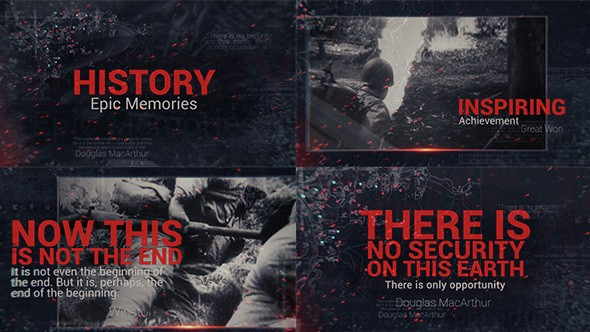 Videohive Epic History Memories 14800884
