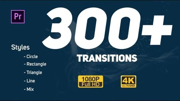 Transitions Pack - Premiere Pro Templates 48982