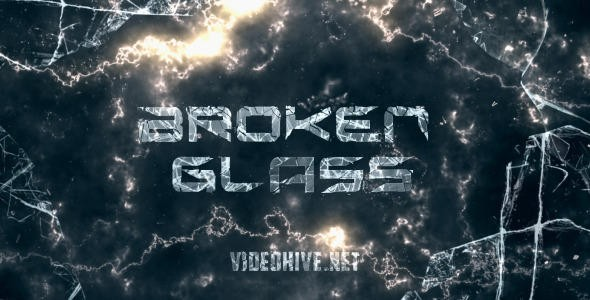 Videohive Broken Glass Trailer 10896126