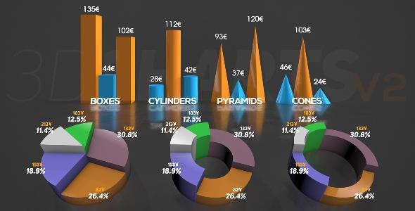 Videohive 3D Charts v.2 16228555
