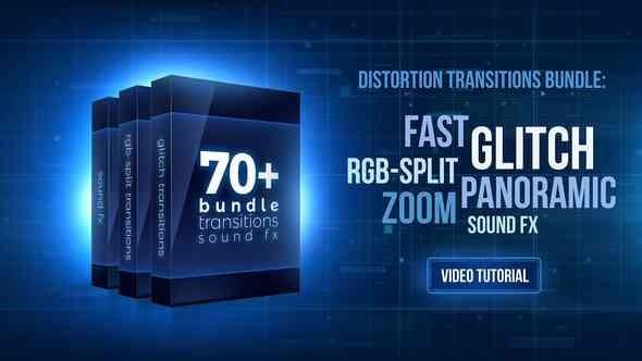 Videohive - 70+ Bundle: Glitch and Rgb-Split Transitions, Sound Fx 21470574