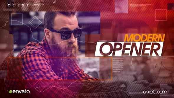 Videohive Modern Opener 15762934