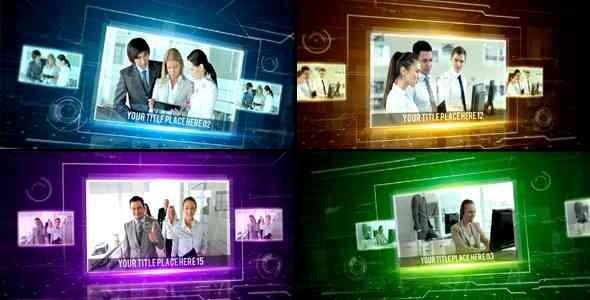 Videohive Hi-Tech Corporate Slideshow 13498261