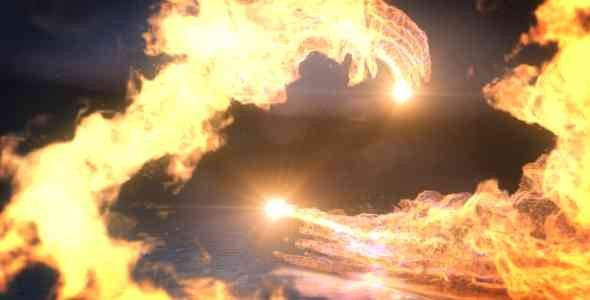 Videohive Fire Dance Logo Reveal 18709390