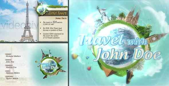 Videohive Travel Show Pack 14751891