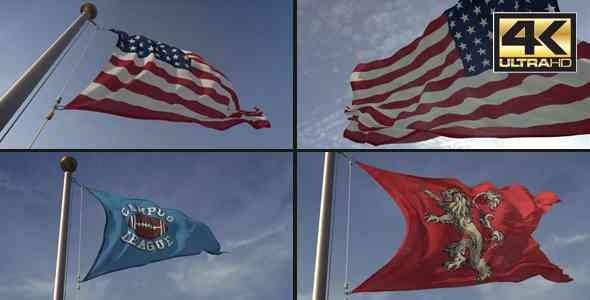 Videohive 3D Flag Loop Maker 18248666