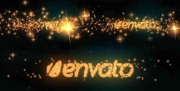 Videohive Logo & Text Intro - Glitters 5328024